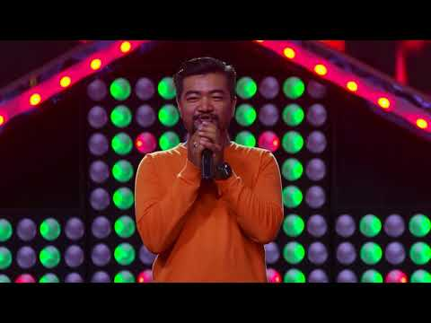 "Aashish Gubaju - ""Nachaheko Hoina Timilai"" - Blind Audition - The Voice of Nepal 2018"