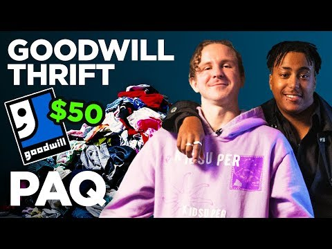 Goodwill $50 Outfit Challenge!