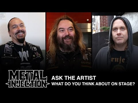 ASK THE ARTIST: What Do You Think About While Performing On Stage? | Metal Injection