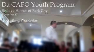 Da CAPO Youth Program - Good King Wenceslas (Nov 17)