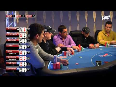 CASH KINGS E11 1/2 - DE - NLH 2/5 ante 5 - Live cash game poker show