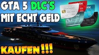 GTA 5 DLC UND INHALTE MIT ECHTEM GELD KAUFEN