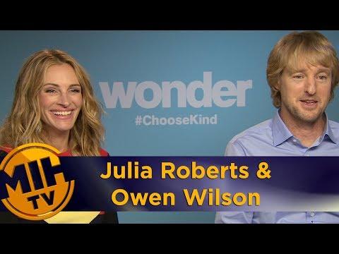 Julia Roberts and Owen Wilson: Wonder interview