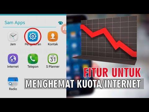 Cara Menghemat Kuota Internet di Android Samsung
