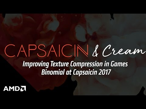 Improving Texture Compression in Games - Binomial at Capsaicin 2017