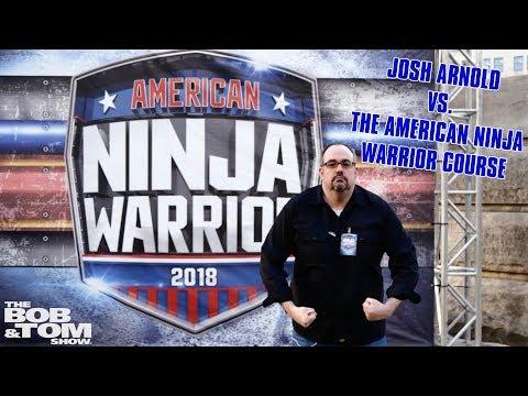Josh Arnold Runs The American Ninja Warrior Course