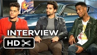Need For Speed Interview - Rami Malek, Ramon Rodriguez & Scott Mescudi (2014) - Action Movie HD