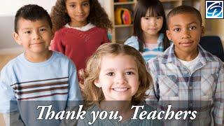 Teachers, We Appreciate You! Cute Kids - Why I love my teacher
