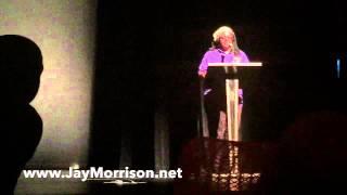 """Jay Morrison receives """"Nelson Mandela Vision Award"""" 7/25/15"""