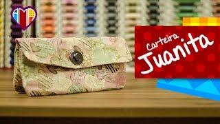 Bolsa carteira de tecido Juanita – Maria Adna Ateliê
