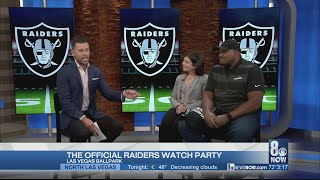 The official Raiders watch party is happening at the Las Vegas Ballpark
