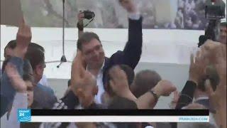 الحزب التقدمي الحاكم يحصد أكثر من نصف مقاعد البرلمان الصربي