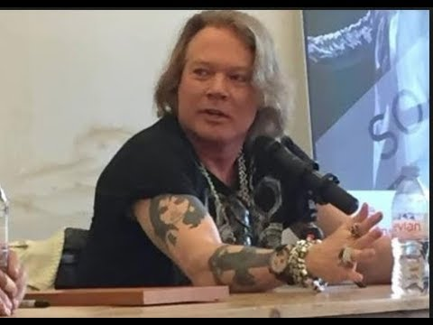Axl Rose on Living in China and Why Guns N' Roses Are Banned From China Along With Slash