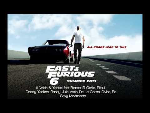 Fast & Furious 6: Wisin & Yandel, Pitbull, Daddy Yankee - Sexy Movimiento Remix mp3