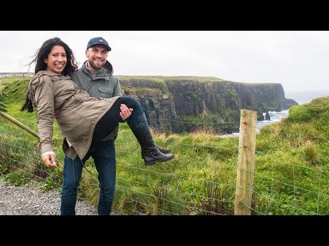 A DIFFERENT WAY TO SEE THE CLIFFS OF MOHER - IRELAND ROAD TRIP
