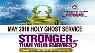 MAY 2018- RCCG HOLY GHOST SERVICE