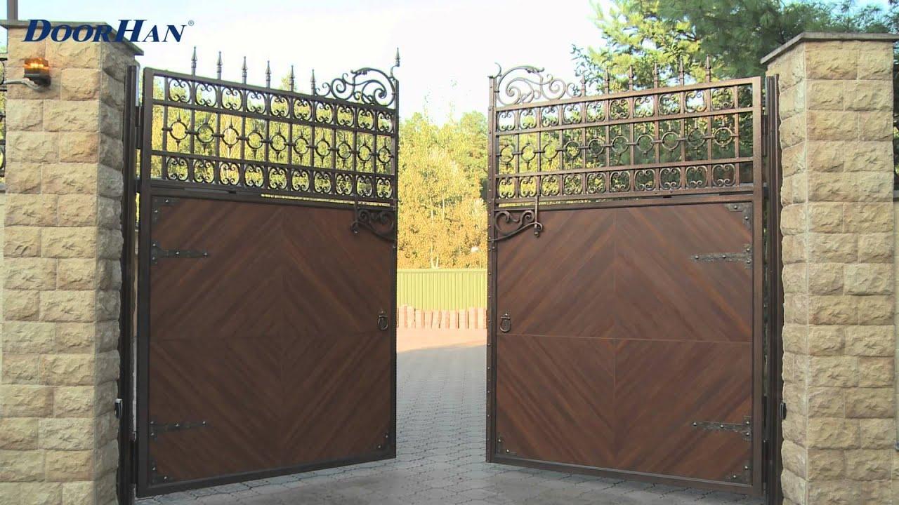 Как установить распашные ворота ворота откатные ворота купить в московской области
