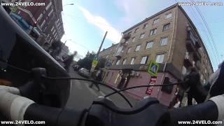 ДТП на перекрестке ул. Мира и Диктатуры пролетариата. Lada Priora vs. велосипедист.(Друзья, огромное всем Вам спасибо за просмотр данного видео! Если это видео Вам..., 2016-08-17T23:41:27.000Z)