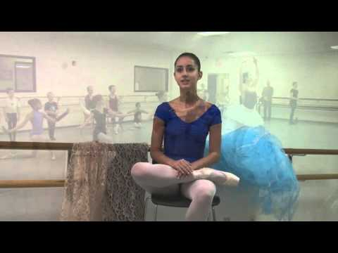 A ballet dancer's road to college (Jorina Kardhashi)
