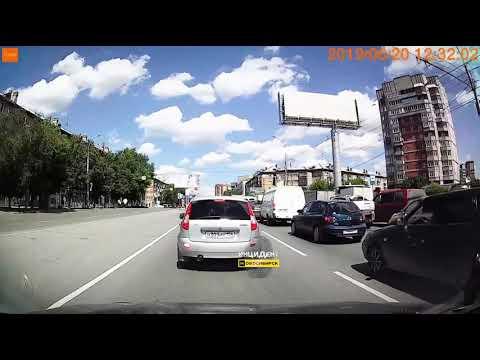 Новосибирск. Конфликт на дороге.