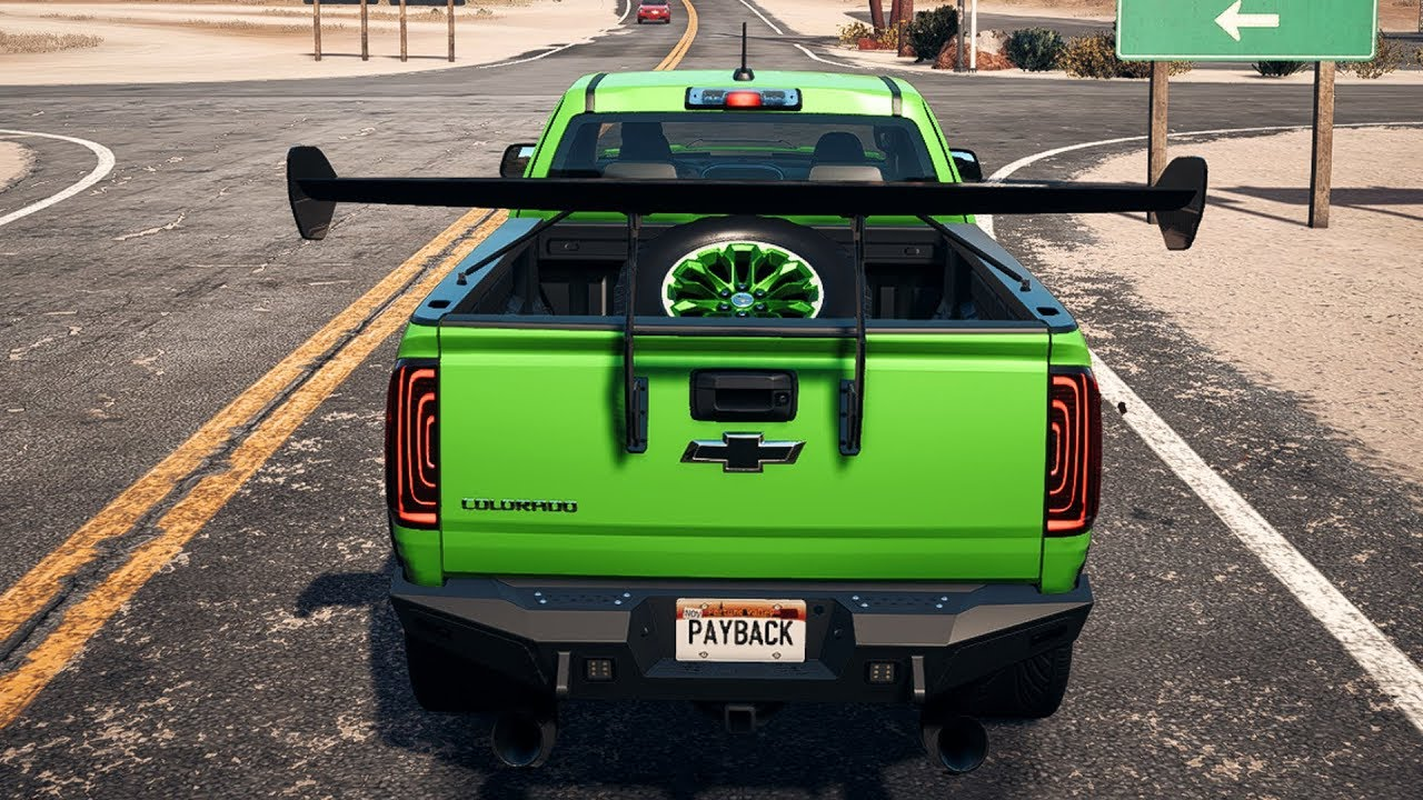 Need For Speed Payback Chevrolet Colorado Zr2 Custom Open