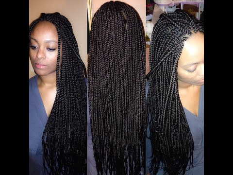 box braid with extensions