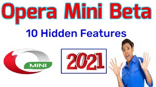 How to Use Opera mini beta version in Android|| Opera mini beta version 10 settings 2021|| Opera screenshot 2