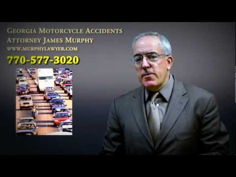Motorcycle Accident Gives Severe Road Rash to Rider - Georgia Motorcycle Accident Lawyer