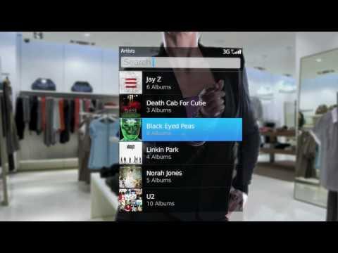 BlackBerry OS 6 Demo