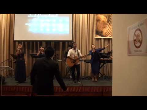 FGA, Singapore, Praise and Worship on Mother's Day, May 10, 2014