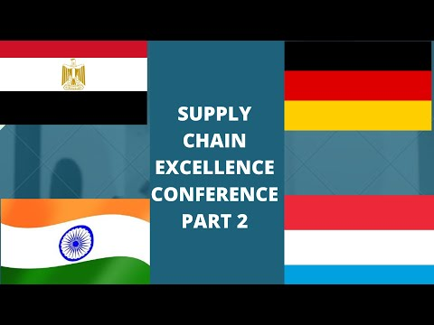 Second Supply Chain Excellence Conference Cairo March 2018