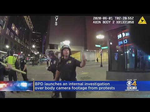 Boston Police Launch Investigation After Body Camera Footage Released From Protests