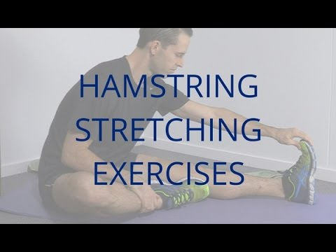 Hamstring Stretching Exercises