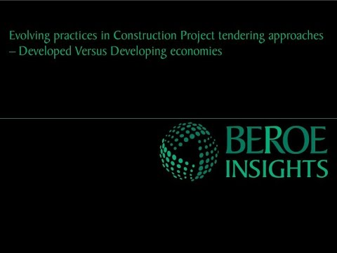 Evolving practices in construction project tendering approaches