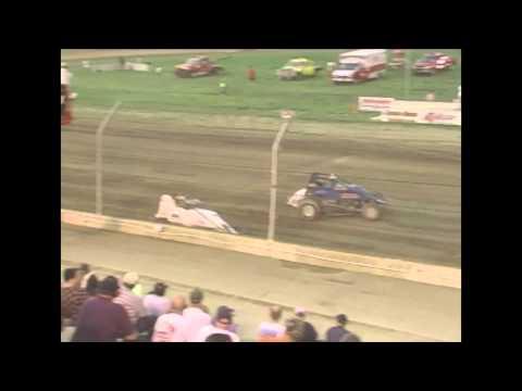 Kyle Larson First Kokomo Speedway Win 2012 Non Wing Sprint Car