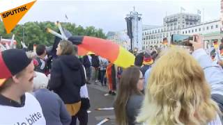 LIVE: Fans Watching Germany-Sweden Match in Berlin
