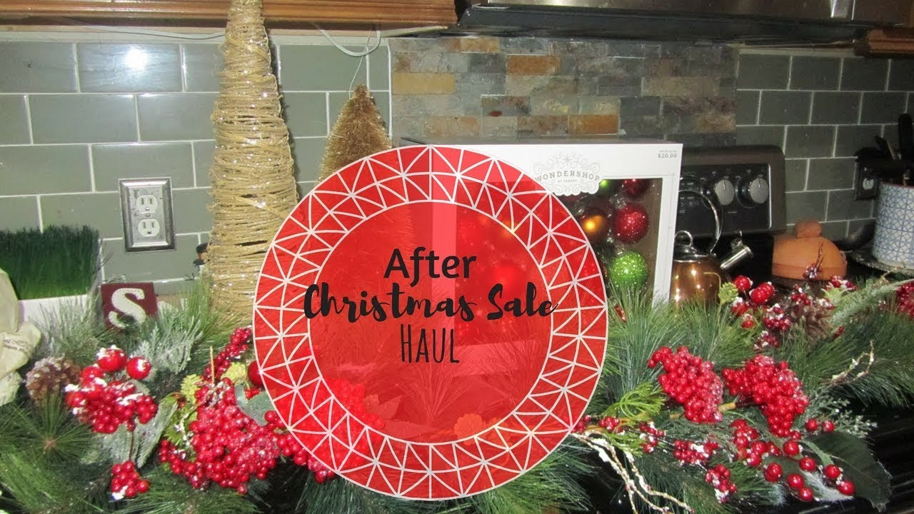 after christmas sale haul hobby lobby target kirklands - Hobby Lobby Christmas Wreaths