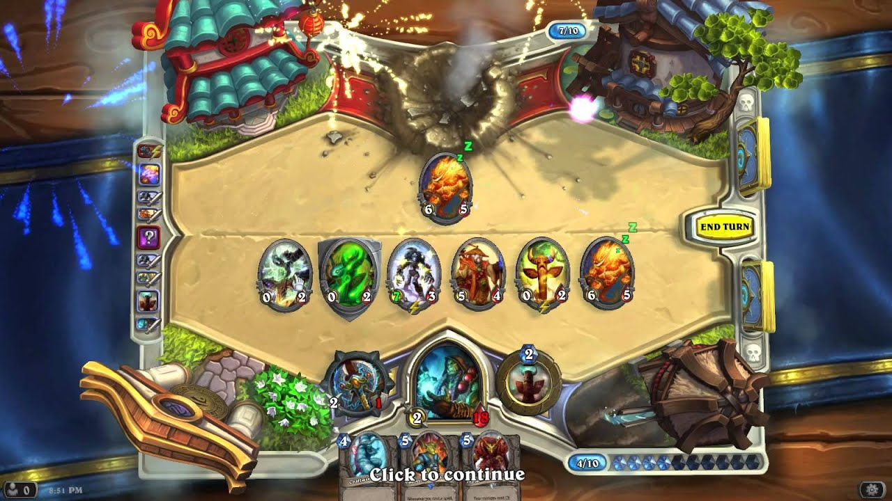 how to play shaman arena hearthstone