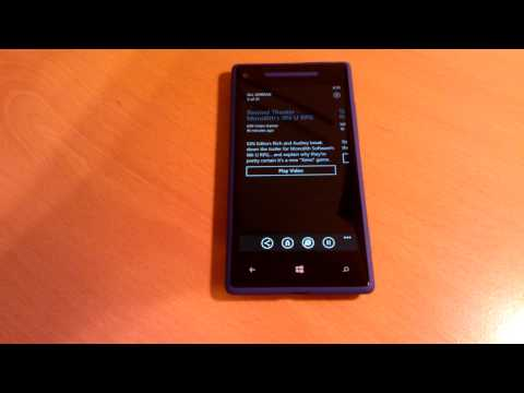 Feed Reader for Windows Phone 8 Voice Commands