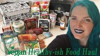 Healthyish Vegan Food Haul from Sweden