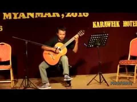 Moe Myint Soe - Classical Guitar Concert Myanmar