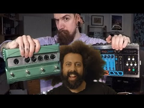 What If Reggie Watts Used More Guitar Pedals?