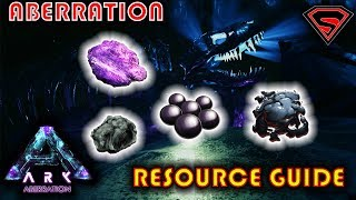 ARK ABERRATION OIL VEINS, OBSIDIAN, BLACK PEARL & ELEMENT ORE LOCATIONS (RESOURCE GUIDE)