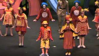 Indian River High School Seussical 2013 (7th grader cast as Mayor in HS production)