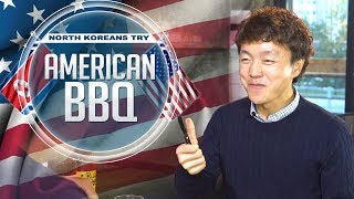 North Koreans Try American BBQ [Full video]