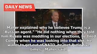 Daily News - Bill Maher Jokes About Penetration Between Donald Trump And Vladimir Putin