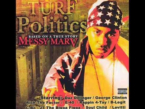 Messy Marv. Turf Politics (Full Album)