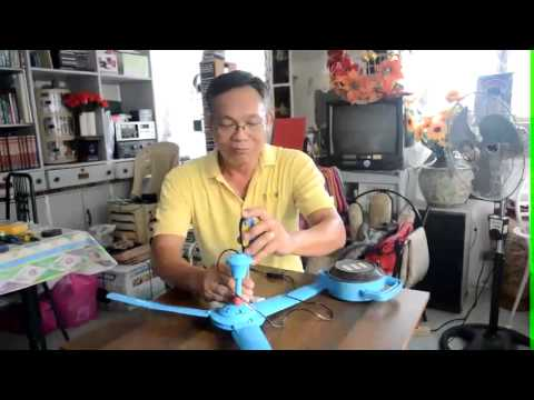 Free Energy:How to Utilize a Cheap Ceiling Fan for lighting 220V 5 watts Bulb?