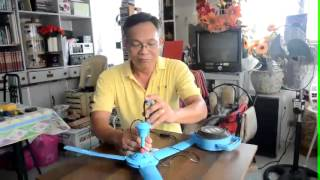 free energy how to utilize a cheap ceiling fan for lighting 220v 5 watts bulb
