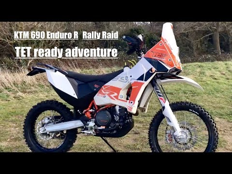 KTM  Enduro R Rally Raid TET ready